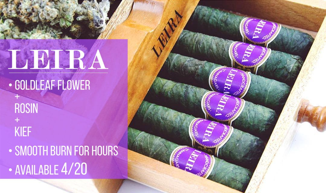 Leira Cannagars available at Green Theory in Bellevue, WA