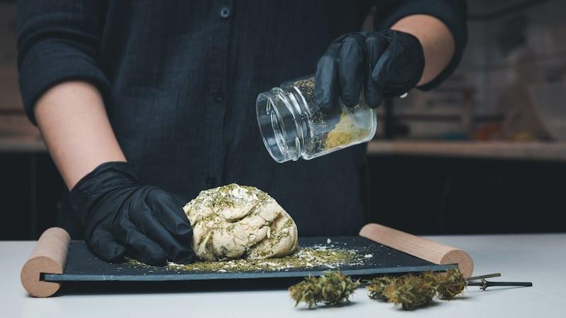 Fresh Dough Cannabis Flour.