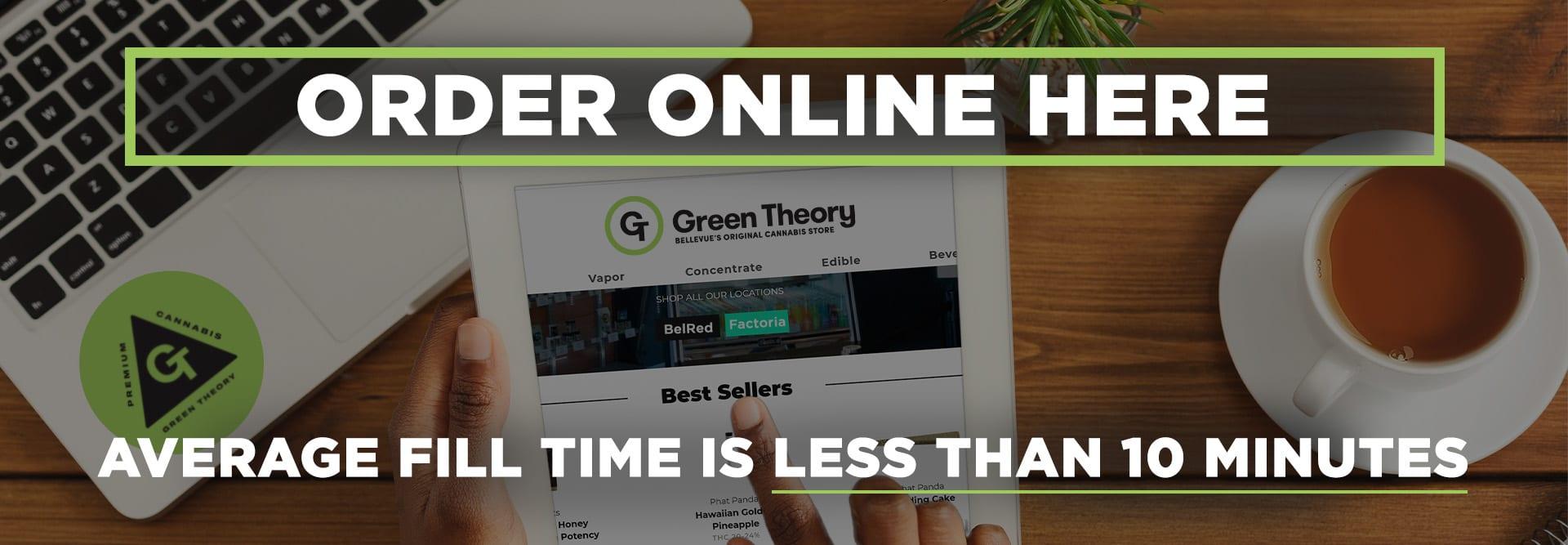 Online orders slide