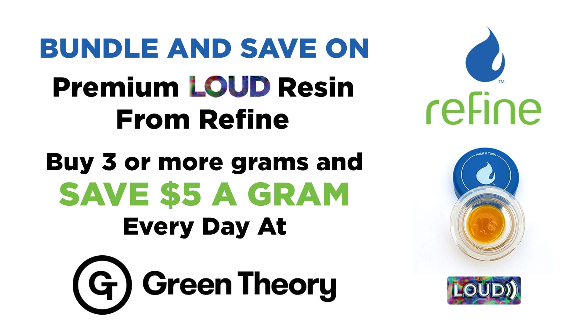 Green theory Refine Concentrate Bundle Social